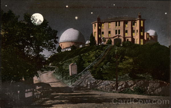 Observatory by Moonlight Hamilton California