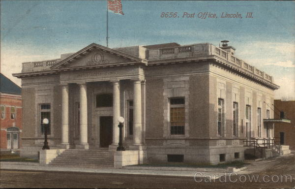 Post Office Lincoln Illinois