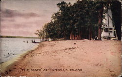 """The Beach"" at Cambell's Island"