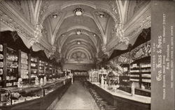 Interior View Geo. Haas & Sons Phelan Building Candy Store