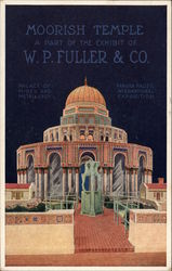 Moorish Temple, a Part of the Exhibit of W.P. Fuller & Co