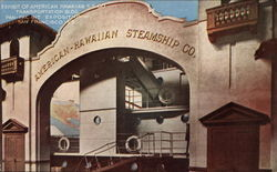 Exhibit of American Hawaiian SS Co., Transportation Building