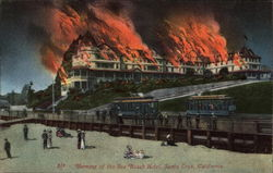 Burning of the Sea Beach Hotel