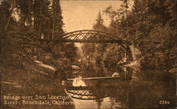 Bridge over San Lorenzo River
