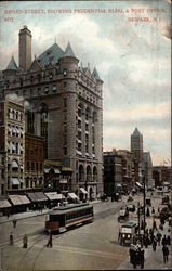 Broad Street, Showing Prudential Bldg. & Post Office