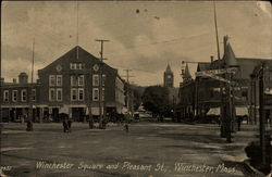 Winchester Square and Pleasant St