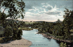 The Ammonoosuc at Twin Mt. House