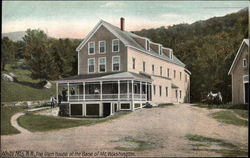 The Glen House at the Base of Mt. Washington
