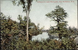 Entrance to Lake Wentworth