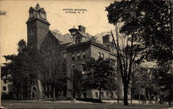 Union School Postcard