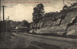 Rock Cliff, Near St. Paul Depot