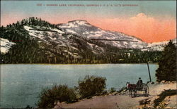 Donner Lake, California, showing SPRR Co.'s showsheds
