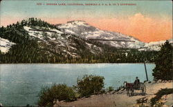 Donner Lake, California, Showing SPRR Co.'s snowsheds