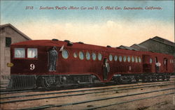 Southern Pacific Motor Car and U. S. Mail Car