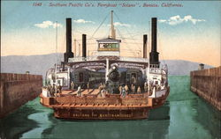 "Southern Pacific Co's Ferryboat ""Solano"""