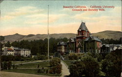 California University Grounds and Berkeley Hills