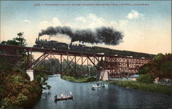 Southern Pacific Flyer Crossing the River
