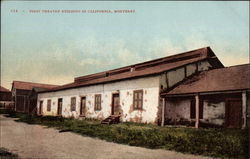 First Theatre Building in California