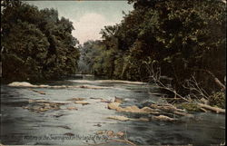 The Rough Waters of the Swannanoa in the Land of the Sky