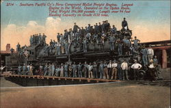 Southern Pacific's New Compound Mallet Freight Engine