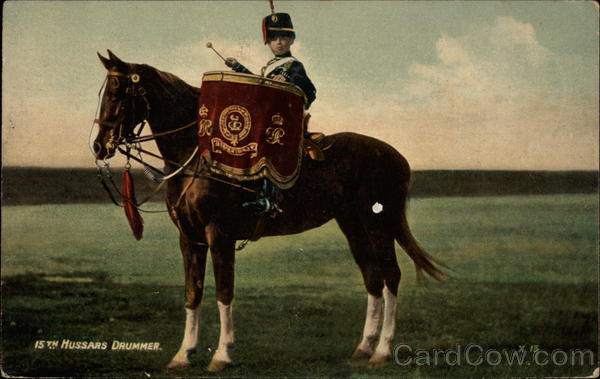 15th Hussars Drummer Military