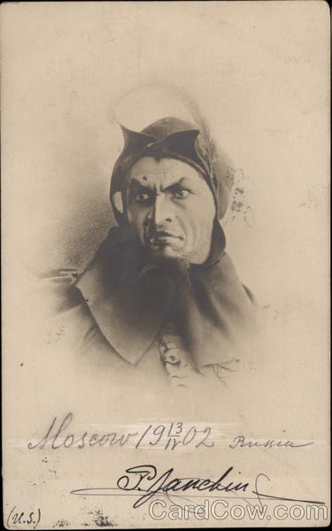 Man in Cowl Russia