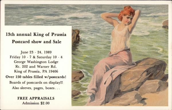13th annual King of Prussia Postcard show and sale