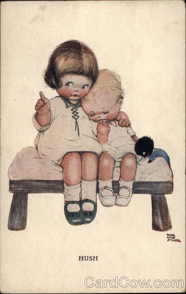 Hush Mabel Lucie Attwell Children