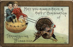 May you always have a happy combination of Thanksgiving Blessings