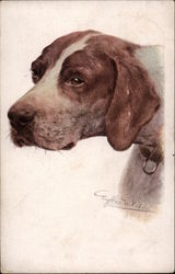 Portrait of an English Pointer