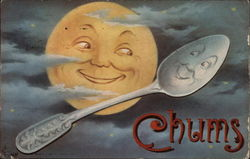 Chums: Moon and Spoon Smile at One Another