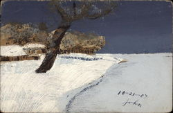 Winter scenery (painting)
