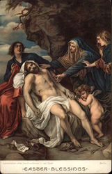 Lamentation After the Crucifixion by van Dyck