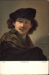 Rembrandt self portrait 1634