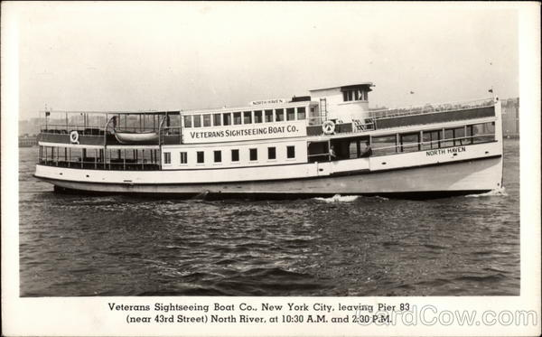 Veterans Sightseeing Boat Co New York City
