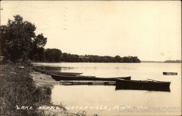 Lake Scene Waterville Minnesota