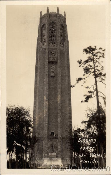 The Singing Tower Lakes Wales Florida