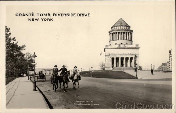 Grant's Tomb, Riverside Drive New York City