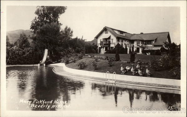 Mission Hills Ca >> Mary Pickford Home Beverly Hills, CA