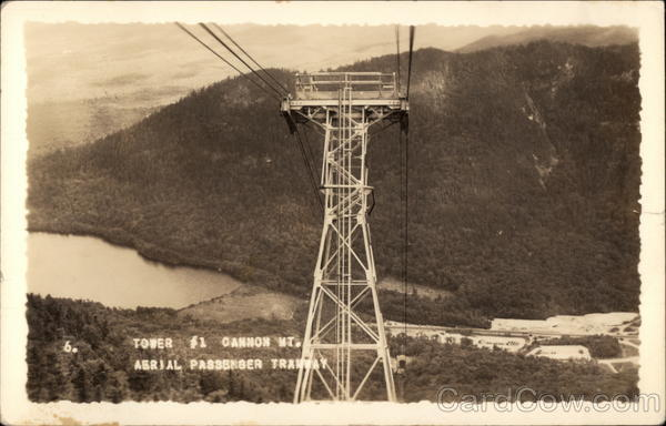 Tower #1 - Aerial Passenger Tramway, Cannon Mountain Franconia New Hampshire