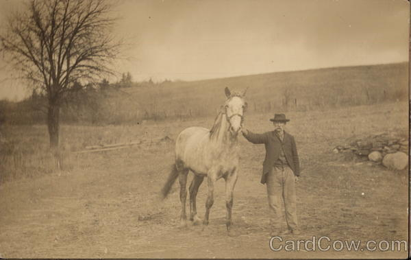 Chauncey Throop and his Horse Landscapes