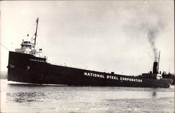 National Steel Corporation Boat Duluth Minnesota Boats, Ships