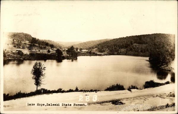 Lake Hope, Zaleski State Forest Ohio