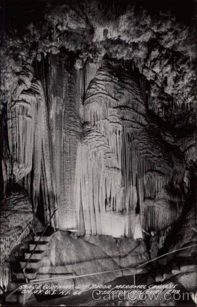 Stage Curtains, 4th Floor, Meramac Caverns Stanton Missouri