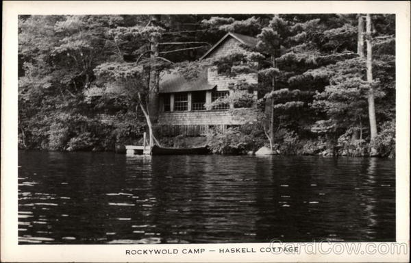 Rockywold Camp - Haskell Cottage Holderness New Hampshire