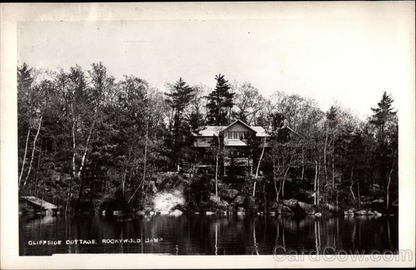 Cliffside Cottage, Rockywold Camp Holderness New Hampshire