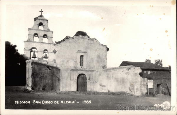 Mission San Diego De Alcala California