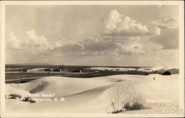 White Sands Alamogordo New Mexico