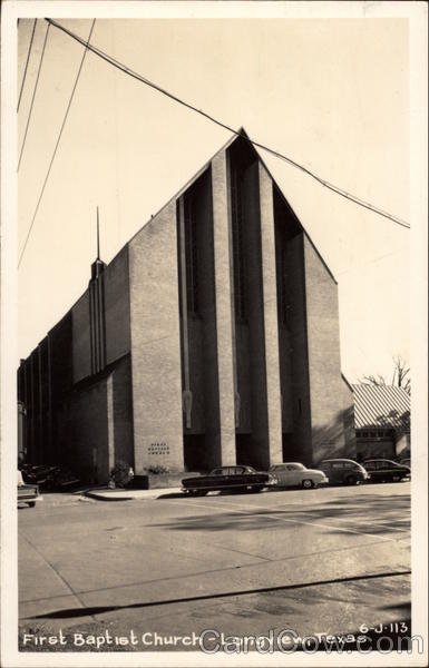 First Baptist Church Longview Texas