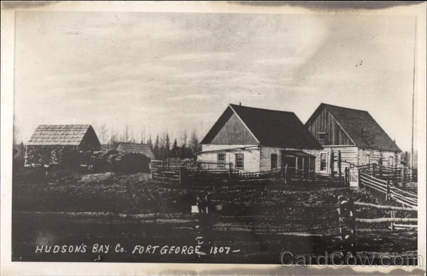 Hudson's Bay Co Fort George Canada Alberta